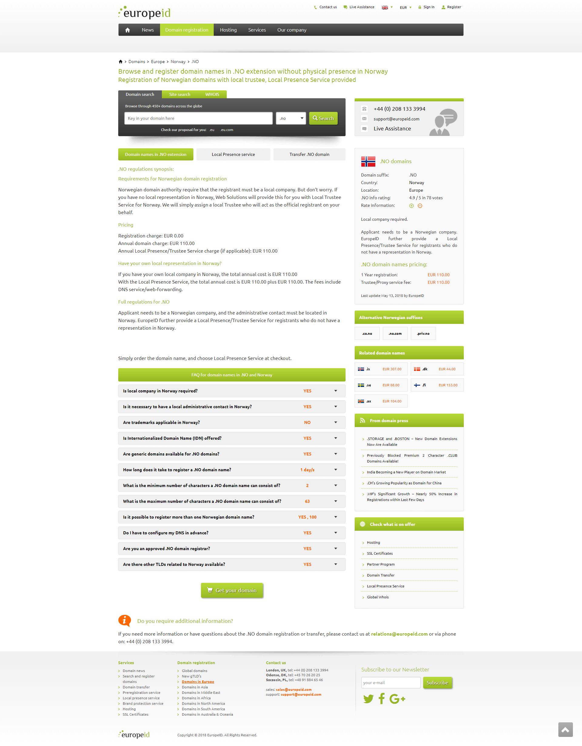 europeid-domain-page
