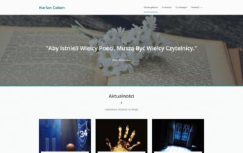 Blog internetowy Harlan Coben - WordPress