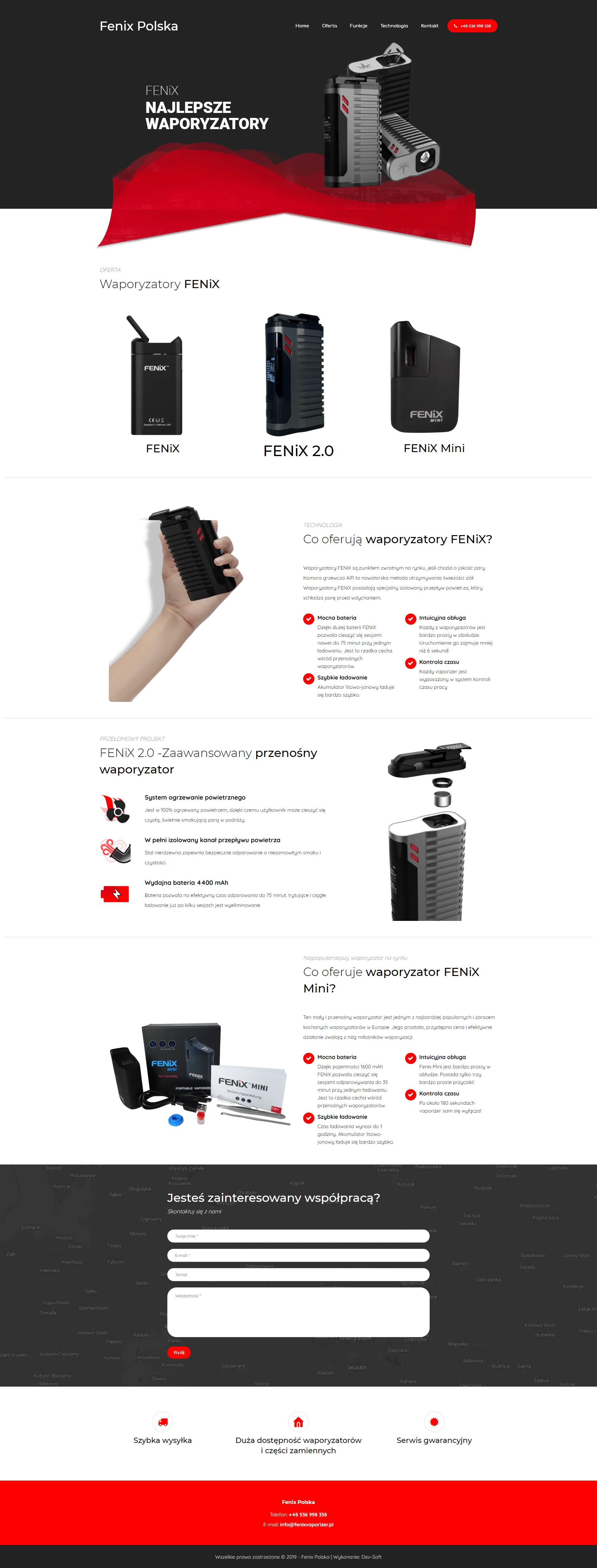 fenix-polska-homepage